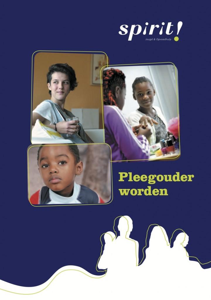 Cover brochure pleegouder worden